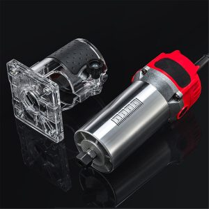 110V/220V 20000rpm Electric Hand Trimmer Router Wood Laminate Palm Joiners Working Cutting Tool