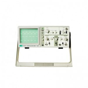 110V/220V V-212A MCH Dual Channel 20MHz Analog Oscilloscope with Imported CTR and 6 Digit Frequency Meter