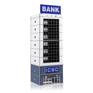 1/150 Outland Modern Building Model  Bank N Scale for GUNDAM Gifts