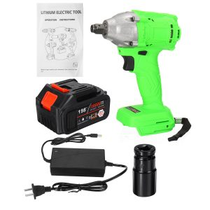 1/2'' 520Nm 19800mAh Electric Cordless Impact Wrench Brushless Battery & Case
