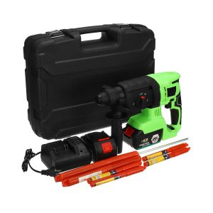 128VF 16800mAh Brushless Electric Cordless Impact Hammer High Torque Drill with Rechargeable Battery