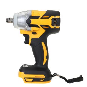 1/2Inch 18V 520Nm Cordless Impact Wrench Driver Brushless Motor Stepless Speed Electric Wrench Adapted To Makita Battery