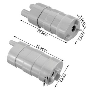 12V 5M Submersible Brushless Water Pump For Tank Pond Fountain Change Water