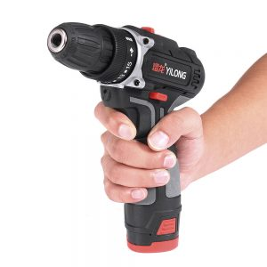 12V Rechargeable Electric Drill Household Impact Drill Electric Screwdriver Cordless Li-ion Drill Driver With LED light