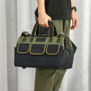 1680D Multifunction Oxford Cloth Tool Bag Storage Pocket Tools Pouch Holder Bag