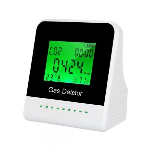 2-inch LCD Screen CO2 Monitor Carbon Dioxide Tester Multi-functional Air Quality Detector