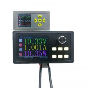 2.8 Inch Large Color Screen 60V 5A DC Adjustable Step-down Digital Control Power Module Constant Voltage and Constant Current Support Modbus