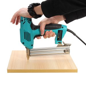 220V 1800W Electric Staple Straight Electric Staple Straight Nail Guns 10-30mm Special Use 30/min Wood Working Tool