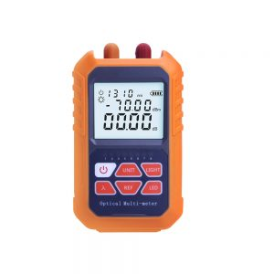 3-in-1 Handheld Fiber Mini Optical Power Meter -70+3 dBm Laser Source Visual Fau 5MW 5KM Network Cable Test