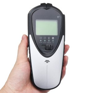 4 In 1 Backlit Wall Scanner Stud Finder Center Beam Sensor LCD Display Portable Wire For Wood Electronic Joist Detection