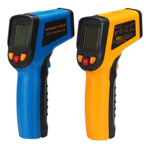 400℃ Digital Temperature Infrared Laser LCD Thermometer New Non-Contact IR