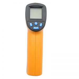 '-50~550℃(-58 ° F~1022 ° F) Infrared Thermometer Handheld Digital Laser Electronic Outdoor Non-Contact Hygrometer Humidity IR Laser Thermometer