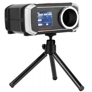 Accuracy Firing Speed Tester with LCD Display Portable Multifunctional Velometer APP bluetooth Synchronization