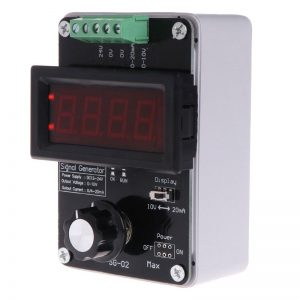 Adjustable Current Voltage Analog Simulator 0~20mA Signal Generator DC 0~10V with Built-in 2000mA Rechargeable Lithium Battery