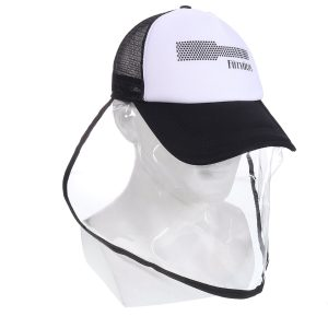 Anti-spitting Protective Hat Dustproof Cover Peaked Cap Fisherman Sun protection