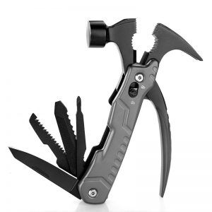 Multi-functional Claw Hammer with Stainless Steel and Aluminum Handle